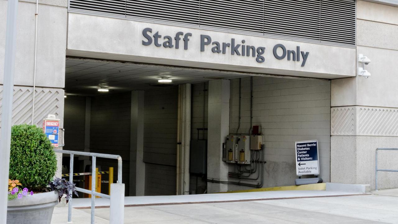 CUIMC Parking | Facilities Management